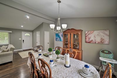 This vacation rental home has room for the whole family!