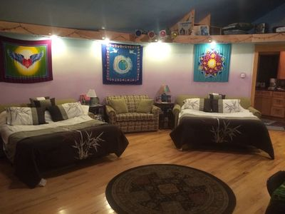 Photo for Artisan Crafted Home on Organic Llama Farm— Benzie County Family Friendly