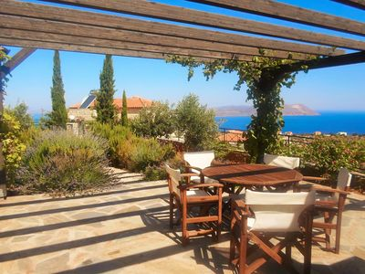 Photo for Beautiful Mountainside Villa with Private, Secluded Pool, & Panoramic Sea Views