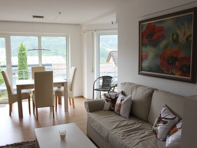 Photo for Modern apartment with sun terrace and views of the Black Forest