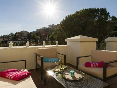 Photo for Luxurious house 3 fronts on the Golf Los Arqueros