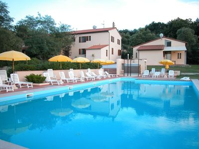Photo for Beautiful farmhouse 20 km away. from Pisa with Swimming Pool - Bellavista Apartment