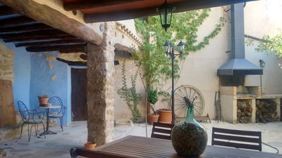 Photo for Cozy rural house for apartments in Bajo Aragón, next to Matarraña