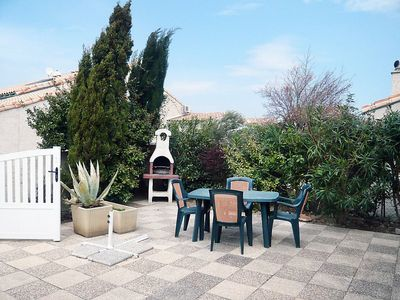 Photo for House 1 km from the center of Gruissan with Parking, Internet, Washing machine, Terrace (96037)