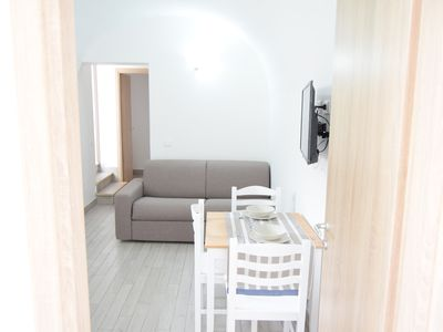 Photo for Comfortable apartment near the sea with terrace near Palermo, Sicily