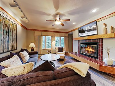 Photo for Sophisticated Ski-In, Ski-Out Condo w/ 2 Pools, Hot Tubs & Private Balcony