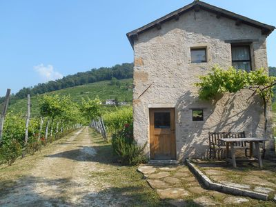 Photo for Cottage in the heart of the Prosecco hills