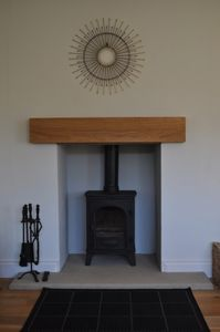 Woodburner (Sitting Room)