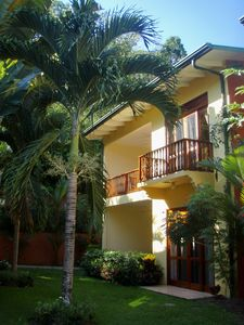 Photo for Casa 12 A Beautiful 2nd Floor Condo in a Private Lush Garden Surrounding