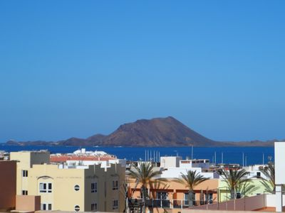 Photo for Apartment center Corralejo, sea view and volcanoes