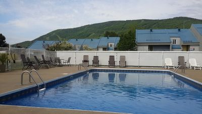 Photo for Condo with King bed at Mont Ste-Anne