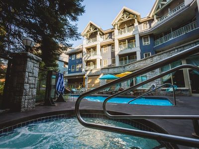 Photo for Pet-Friendly Studio in Whistler Village | Free Shuttle, Pool + Hot Tub Access