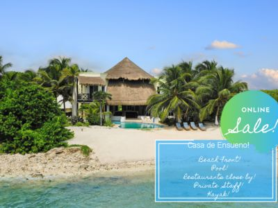 Photo for DISCOUNTED RATES! DRAMATIC OPEN AIR VILLA ON TANKAH BAY, TULUM