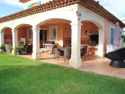 Photo for Lovely apartment for 6 guests with A/C, private pool, WIFI, TV, pets allowed and parking