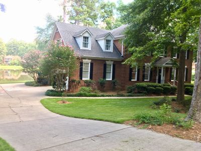 Photo for 5BR 3.5BA Lakefront Home, 3 Miles to Augusta National