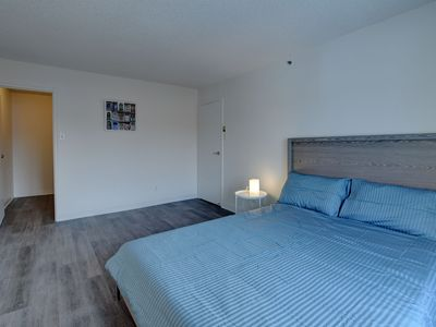 Photo for LUXURY CONDO DTWN LAVAL HIGHEND BLDG PARKING INCL,gym,theater, lounge, wifi inc