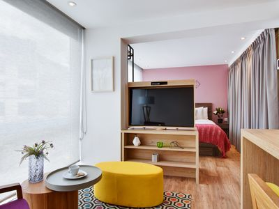 Photo for Urban Heights 302 - Trendy Studios in Exciting Chapinero Alto