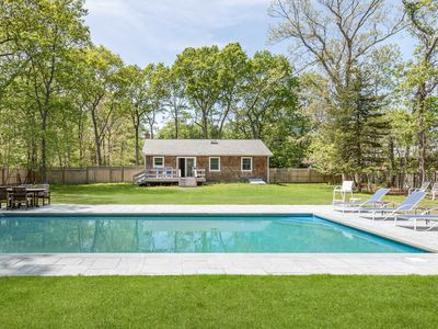 Photo for A quite retreat in East Hampton with new private pool