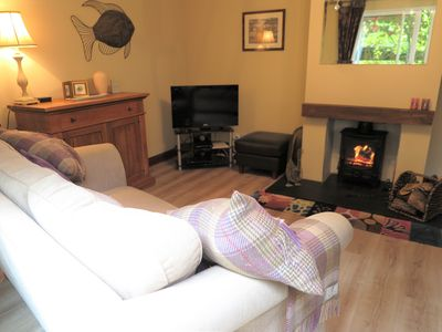 Photo for Stay in the heart of fabulous Kirkby Lonsdale,  with private parking!
