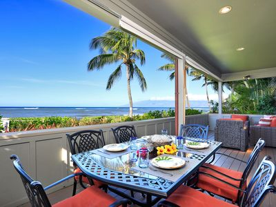 Photo for Kahana Village #19 Ocean Front Prime Luxury