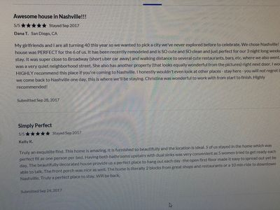Reviews from past guests :)