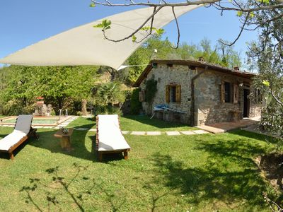 Photo for Wonderful  villa for 3 guests with internet, private pool, TV, pets allowed and parking