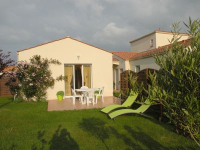 Photo for House 40m2 in Landevieille (meadows Brétignolles-sur-mer) gite sleeps 4