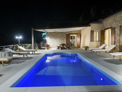 Photo for Villa Cleopatra 3-bedroom  with amazing sea view, private pool, BBQ