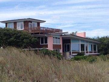 Architectural Ocean Front Gem on Widest most Private Beach in Virginia Beach