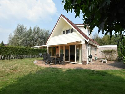 Photo for Villa located directly beside a fishing and swimming lake, enclosed garden