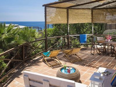 Photo for A few steps from the sea with breathtaking views