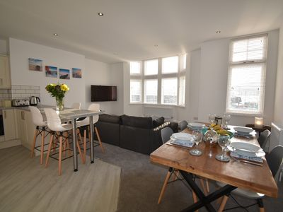 Photo for Luxury brand new first season holiday home on the Scarborough seafront!