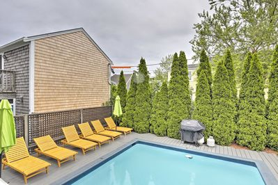 Dive into relaxation at this 2-bedroom, 1-bath condo.