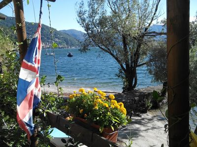 Photo for 2½-room apartment with terrace in a sunny location directly on the lake