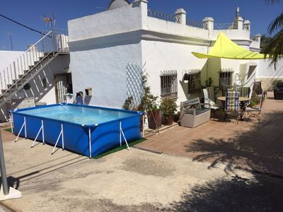 Photo for Air-conditioned Holiday Home with Pool and Terrace, Pets allowed