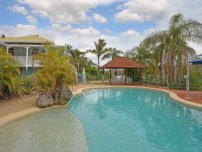 Photo for Water Front Stunner - Sleeps 14