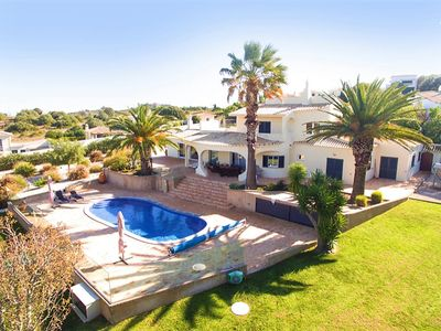 Photo for Dream villa with pool and panoramic views in Luz / Lagos