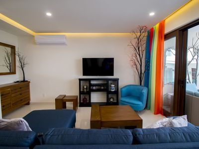 Photo for Modern, Awesome and luxury apartment in Romantic Zone of Puerto Vallarta.
