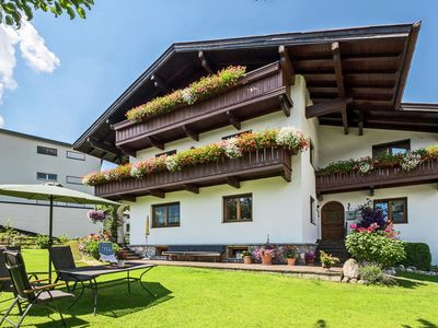 Photo for Cosy apartment with nice garden in a quiet central location in Fügen