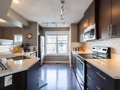 Photo for 🌟Upscale Townhome,Banff,Spruce Meadows🐴 ,Pets🐶