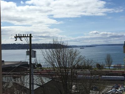 Outlook from Balcony - Gorgeous Puget Sound View!!