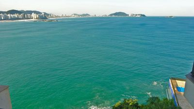 Photo for Guarujá Asturias Beach Seafront, Air Conditioning, Leisure and 2 Seats Demar