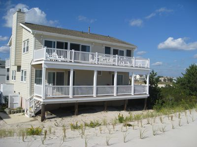 Photo for Oceanfront single family home 4Br 2Ba family friendly, quiet, uncrowded beaches