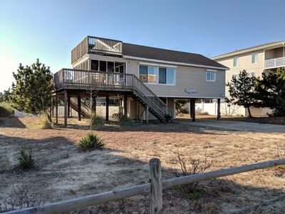 Photo for Adorably decorated, semi-oceanfront, beach cottage, with pool. Ocean views!