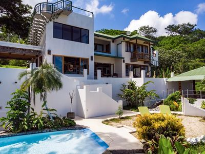 Photo for Amazing Ocean View Villa - 55 min from San José. Swimming Pool, Breakfast, A/C.