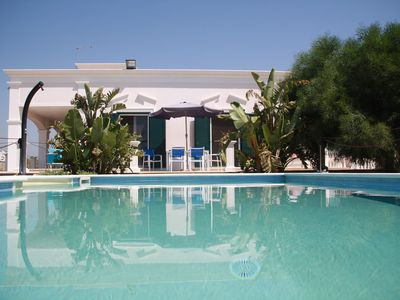 Photo for Holiday dream with priv. Pool, 150m to the beach