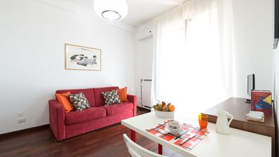 Photo for Sparano Centro - Furnished studio complete with WiFi and outdoor terrace