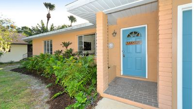Photo for Affordable 2ba/1ba Waterfront Cottage in Sarasota close to downtown and beaches