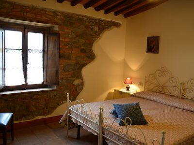 Photo for On a farm in the countryside 30 km from Volterra for two adults and a child