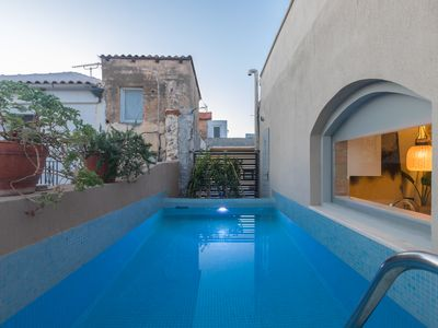 Photo for In the old historical town of Rethymno,Daphne Luxury Home with a private pool